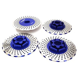 하비몬Realistic Alloy Brake Disc Set for Traxxas X-Maxx 4X4 (Blue)[상품코드]INTEGY