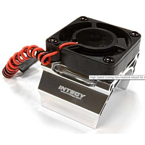 하비몬High Speed Cooling Fan+Heatsink Mount for 42mm O.D. Motor (Silver)[상품코드]INTEGY