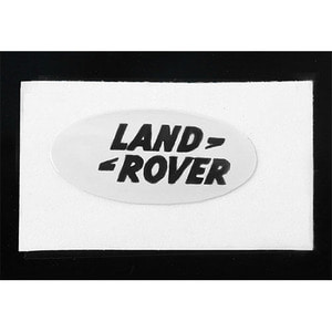 하비몬[단종] Land Rover Emblem for Gelande II D90/D110 Body (White)[상품코드]RC4WD