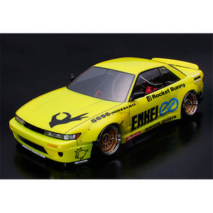하비몬1/10 Nissan Silvia S13 195mm Clear Body w/ Rocket Bunny V2 Body Parts Set For RC Touring Drift[상품코드]ABC HOBBY