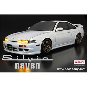 하비몬1/10 Nissan S14 Silvia Navan Clear Body Set For 1/10 RC Touring Drift[상품코드]ABC HOBBY