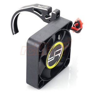 하비몬Aluminum 7075 Fan Mount w/ YA-0327 40mm Fan for 540 Motor Black[상품코드]YEAH RACING