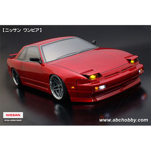 하비몬1/10 Nissan Silvia S13 Clear Body w/ POP UPS ONE-VIA ZENKI Body Parts Set For RC Touring Drift[상품코드]ABC HOBBY