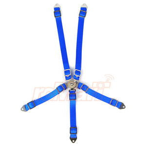 하비몬1/10 RC Scale Accessory Safety Belt (Blue)[상품코드]YEAH RACING