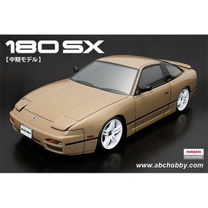 하비몬1/10 Nissan 180SX Mid Model Chu-ki Clear Body Set For 1/10 RC Touring Drift[상품코드]ABC HOBBY