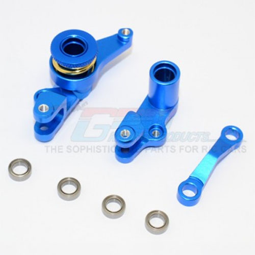 하비몬Slash 4x4/LCG Alloy Steering Assembly w/Bearings - Blue[상품코드]GPM