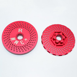 하비몬X-Maxx Aluminium Rear Wheel Hex Claw +3Mm With Brake Disk[상품코드]GPM