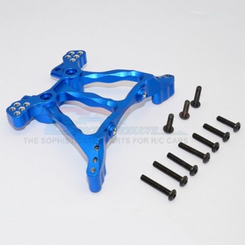 하비몬Slash 4x4/LCG Alloy Rear Shock Tower - Blue[상품코드]GPM