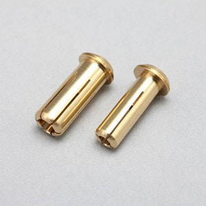 하비몬24K Gold Europian Plug Set - Low Height (Φ4mm/Φ5mm)[상품코드]YOKOMO