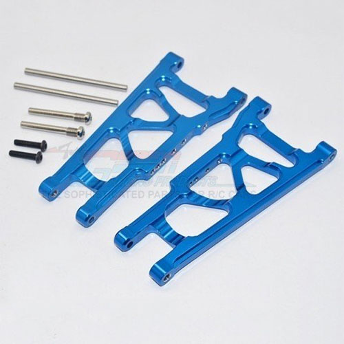 하비몬Slash 4x4/LCG Alloy Front/Rear Lower Arm - Blue[상품코드]GPM