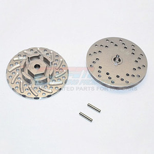 하비몬Aluminum Front/Rear Wheel Hex Claw +3mm w/Brake Disk[상품코드]GPM