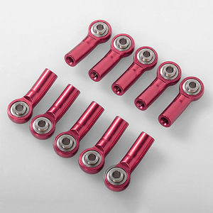 하비몬[10개] M3 Bent Medium Aluminum Rod Ends (Red) (10) [상품코드]RC4WD