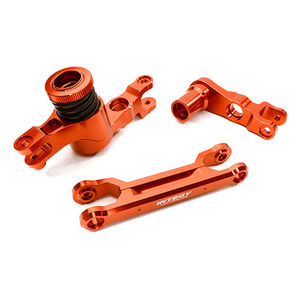 하비몬Billet Machined Steering Bell Crank Set for Traxxas X-Maxx 4X4 (Red)[상품코드]INTEGY