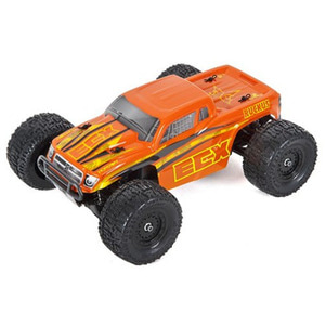 하비몬[#ECX01000T2] 1/18 Ruckus Monster Truck RTR w/2.4GHz Radio (Orangle/Yellow)[상품코드]ECX RC