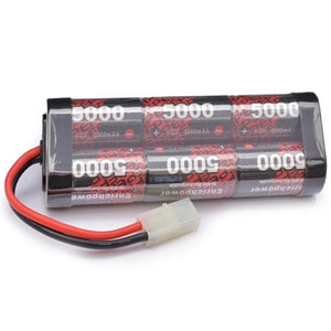 하비몬5000mAh 7.2V SC Ni-MH Stick Battery (타미야잭)[상품코드]E-POWER