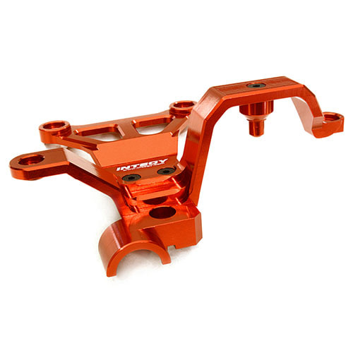 하비몬Billet Machined Steering Bell Crank Support for Traxxas X-Maxx 4X4 (Red)[상품코드]INTEGY