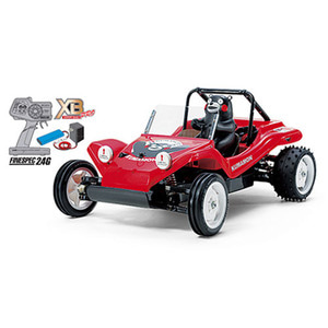 하비몬1/10 XB Buggy Kumamon Version - Red Edition (DT02)[상품코드]TAMIYA