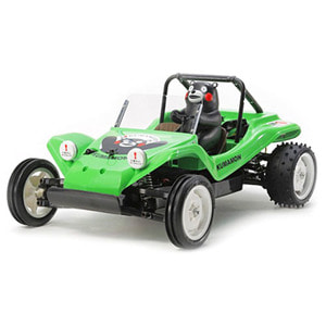 하비몬1/10 XB Buggy Kumamon Version - Green Edition (DT02)[상품코드]TAMIYA