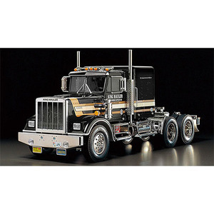하비몬1/14 Tractor Truck King Hauler - Black Edition[상품코드]TAMIYA