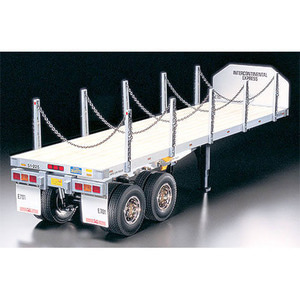 하비몬1/14 Flatbed Trailer For Tamiya RC Tractor Truck[상품코드]TAMIYA