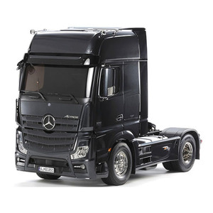 하비몬1/10 Mercedes-Benz Actros 1851 Gigaspace (Black Version)[상품코드]TAMIYA