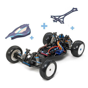 하비몬1/10 TRF201 2WD Buggy Kit w/Upgrade & LW Body 1[상품코드]TAMIYA