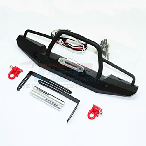 하비몬Aluminum Front Bumper w/Led Lights for Crawlers (A)[상품코드]GPM