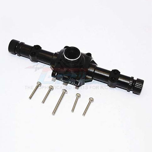 하비몬SCX10 II Alum. Front/Rear Axle Housing - Black[상품코드]GPM