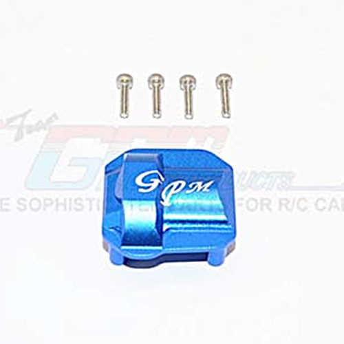 하비몬SCX10 II Alum. Front/Rear Differential Cover - Blue[상품코드]GPM