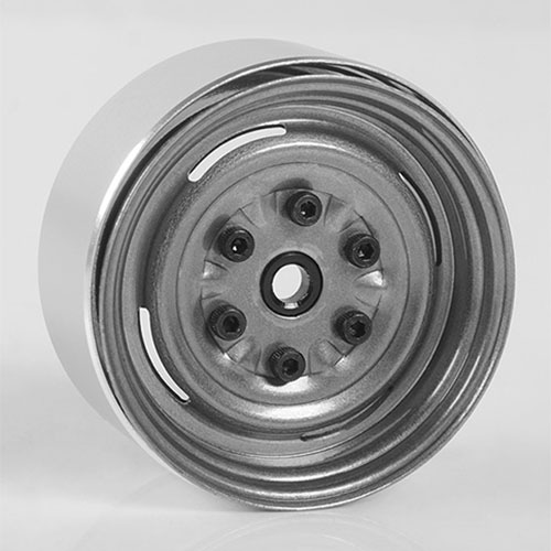 "하비몬[4개 한대분] Vintage Yota 6 Lug Stamped Steel 1.55"" Beadlock Wheels (Clear)[상품코드]RC4WD"