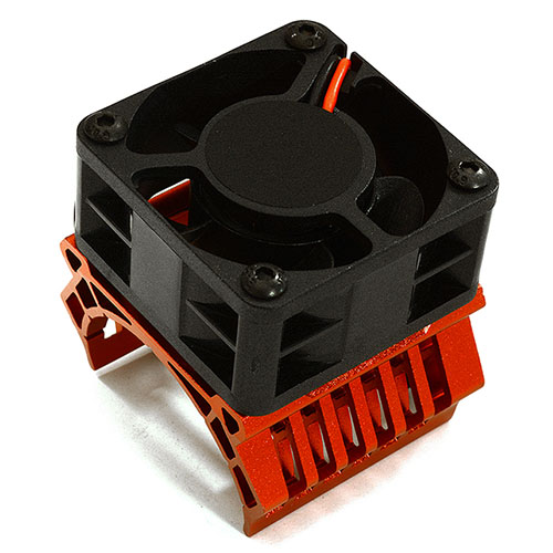 하비몬36mm Motor Heatsink+40mm Fan 16k rpm for 1/10 Slash 4X4, Stampede 4X4, 4-Tec 2.0[상품코드]INTEGY