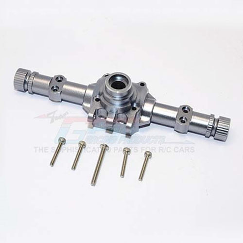 하비몬SCX10 II Alum. Front/Rear Axle Housing - Grey Silver[상품코드]GPM