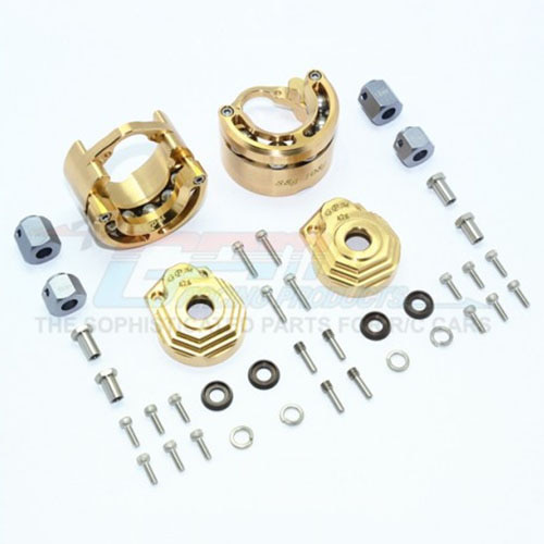하비몬TRX-4 Brass Extreme Heavy Edition Pendulum Wheel Knuckle Axle Weight[상품코드]GPM