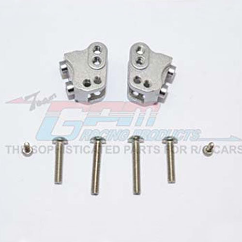 하비몬SCX10 II Alum. Front/Rear Link Mounts - Grey Silver[상품코드]GPM