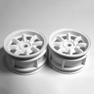 하비몬1/10 RC Mini Cooper Wheels 2pcs White[상품코드]TAMIYA