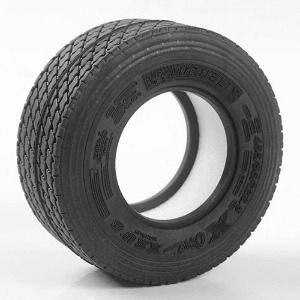 "하비몬[#Z-T0176] [2개 반대분] Michelin X ONE® XZU® S 1.7"" Super Single Semi Truck Tires[상품코드]RC4WD"