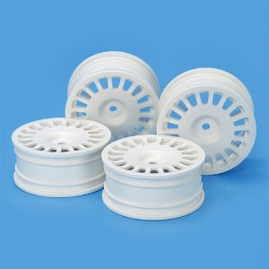 하비몬24mm RallyDish Wheels 0 Whi 4[상품코드]TAMIYA