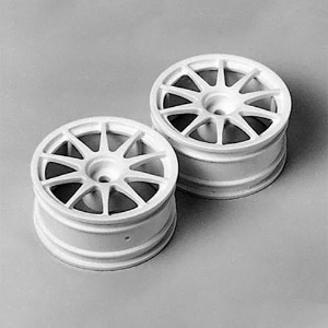 하비몬10 Spoke One-Piece Wheels 1pr[상품코드]TAMIYA