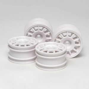 하비몬11 Spoke Racing Wheels - M-Chassis (4pcs)[상품코드]TAMIYA