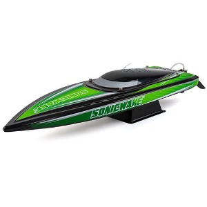 "하비몬Sonicwake 36"" RTR Deep-V Brushless Boat (Black)[상품코드]PRO BOAT"