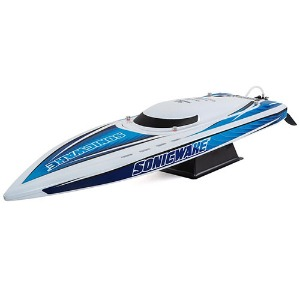 "하비몬Sonicwake 36"" RTR Deep-V Brushless Boat (White)[상품코드]PRO BOAT"