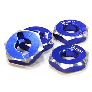 하비몬12mm Hex Wheel (4) Hub 3mm Thick for 1/10 Axial, Tamiya, TC & Drift[상품코드]INTEGY
