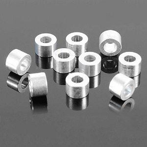 하비몬4mm Silver Spacer with M3 Hole (10)[상품코드]RC4WD