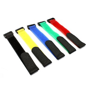 하비몬Multicolor 200mm Battery Strap (5) for RC Car, Boat, Helicopter & Airplane[상품코드]INTEGY