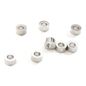 하비몬Billet Machined 8pcs Aluminum M3x6 Washer Spacer (Thick=3.0mm) (Silver)[상품코드]INTEGY
