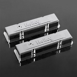 하비몬1/10 Holley® Chrome Valve Covers for Scale V8 Engine[상품코드]RC4WD