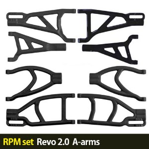 하비몬[RPM set] 1/10 Revo 2.0 A-arms (Black)[상품코드]-