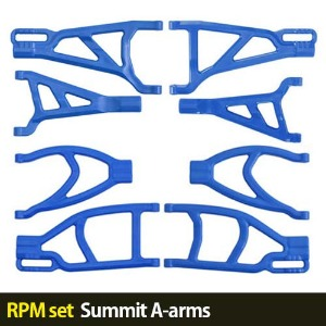 하비몬[RPM set] 1/10 Summit A-arms (Blue)[상품코드]-