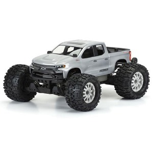 하비몬1/10 2019 Chevy Silverado Z71 Trail Boss Body (Clear) (PRO-MT)[상품코드]PRO-LINE RACING