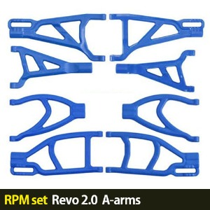 하비몬[RPM set] 1/10 Revo 2.0 A-arms (Blue)[상품코드]-